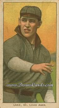 1909 T206 Reprint #273 xBAL Joe Lake