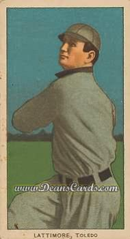 1909 T206 Reprint #277  Bill Lattimore