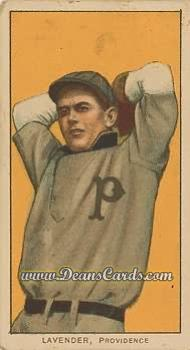 1909 T206 Reprint #278  Jimmy Lavender