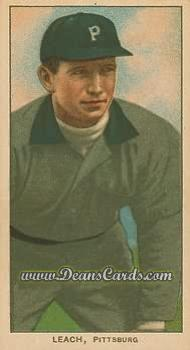 1909 T206 Reprint #279 BEND Tommy Leach