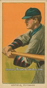 1909 T206 Reprint #281 BAT Lefty Leifield