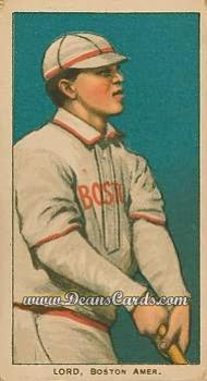 1909 T206 Reprint #290  Harry Lord