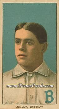 1909 T206 Reprint #291  Harry Lumley