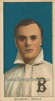 1909 T206 Reprint #298  Bill Malarkey