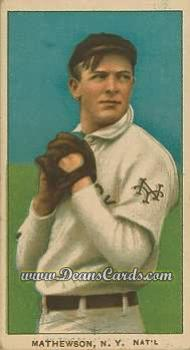 1909 T206 Reprint #307 DRK Christy Mathewson
