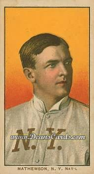 1909 T206 Reprint #308 POR Christy Mathewson