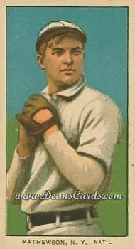 1909 T206 Reprint #309 WHI Christy Mathewson