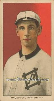 1909 T206 Reprint #313  Pat McCauley
