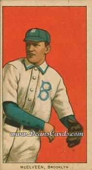 1909 T206 Reprint #315  Pryor McElveen