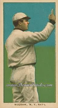 1909 T206 Reprint #320 AIR John McGraw