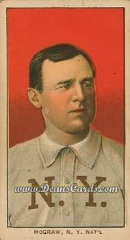 1909 T206 Reprint #322 xCAP John McGraw