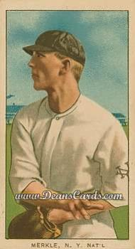 1909 T206 Reprint #331 THR Fred Merkle