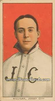 1909 T206 Reprint #339  Bill Milligan
