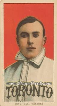 1909 T206 Reprint #340 TOR Fred Mitchell