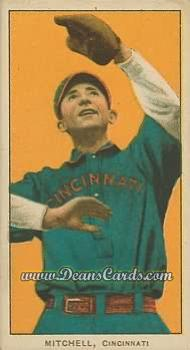 1909 T206 Reprint #341 CIN Mike Mitchell