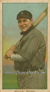 1909 T206 Reprint #350 BAT George Mullin