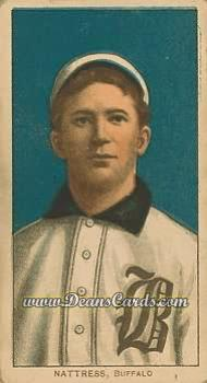 1909 T206 Reprint #356  Billy Nattress
