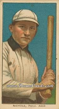 1909 T206 Reprint #359 BAT Simon Nicholls