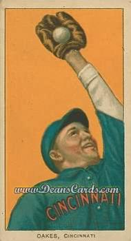 1909 T206 Reprint #361  Rebel Oakes