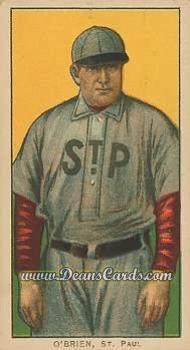1909 T206 Reprint #363  Peter O'Brien