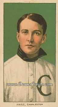 1909 T206 Reprint #377  George Paige