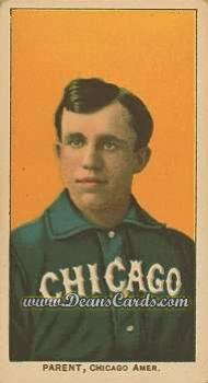 1909 T206 Reprint #378  Fred Parent