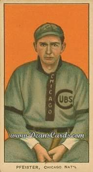 1909 T206 Reprint #389 STD Jake Pfiester