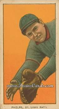 1909 T206 Reprint #392  Eddie Phelps