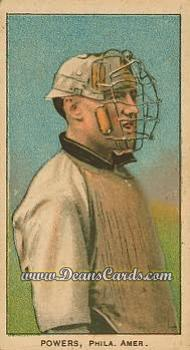 1909 T206 Reprint #398  Mike Powers