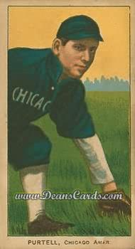 1909 T206 Reprint #399  Billy Purtell