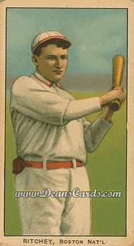 1909 T206 Reprint #412  Claude Ritchey