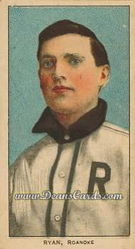 1909 T206 Reprint #419  Ray Ryan