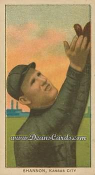 1909 T206 Reprint #437  Spike Shannon