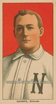 1909 T206 Reprint #438  Bud Sharpe