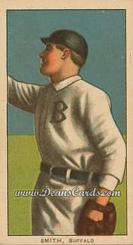 1909 T206 Reprint #451 BUF Heinie Smith