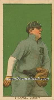 1909 T206 Reprint #462  Oscar Stanage