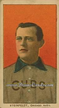 1909 T206 Reprint #466 POR Harry Steinfeldt