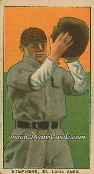 1909 T206 Reprint #467  Jim Stephens