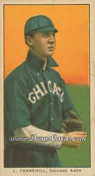 1909 T206 Reprint #479 DOT Lee Tannehill