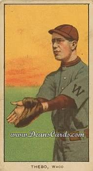 1909 T206 Reprint #483  Tony Thebo
