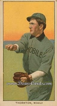 1909 T206 Reprint #486  Woodie Thornton