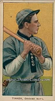 1909 T206 Reprint #488 ON Joe Tinker