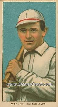 1909 T206 Reprint #498 RGT Heinie Wagner