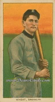 1909 T206 Reprint #505  Zach Wheat