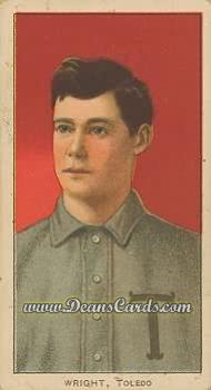 1909 T206 Reprint #522  Lucky Wright