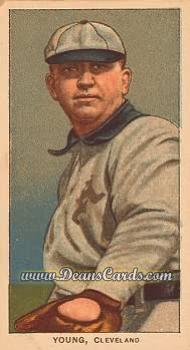 1909 T206 Reprint #524 GLV Cy Young