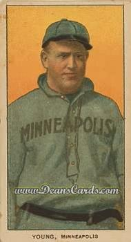 1909 T206 Reprint #526 MIN Irv Young