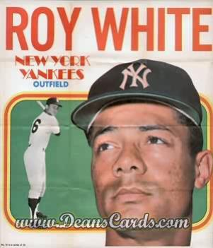 1970 Topps Poster Inserts #14  Roy White