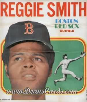1970 Topps Poster Inserts #20  Reggie Smith