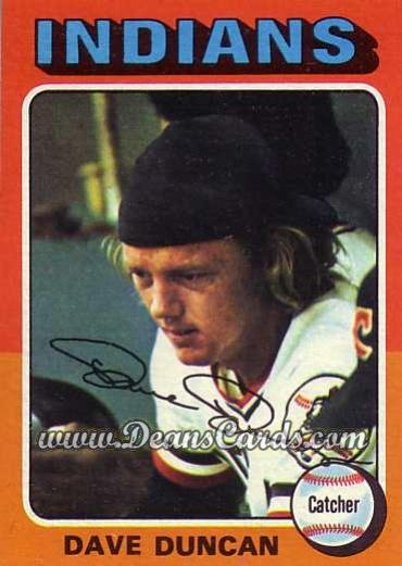 1975 O-Pee-Chee #238  Dave Duncan